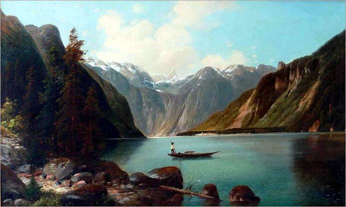 königssee-Arnold Forstmann - circa 1880