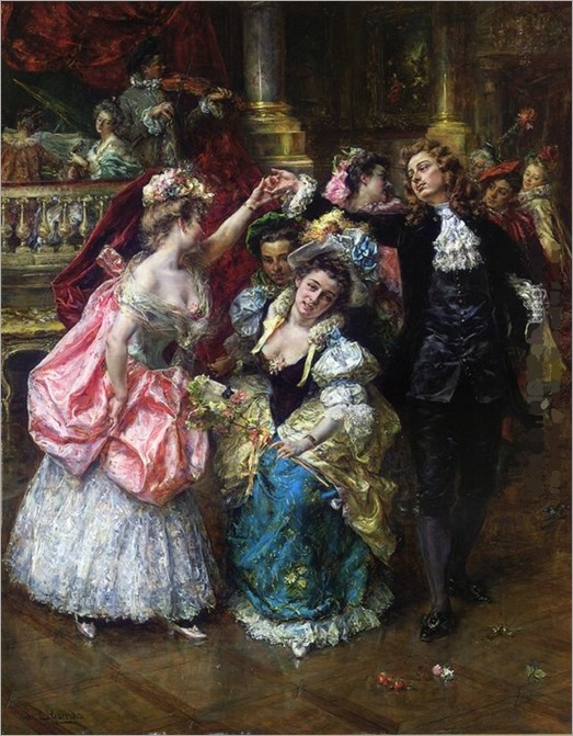 La Farandole du Ballet de l'Opéra de Marseille. Eduardo León Garrido (Spanish, 1856-1906)