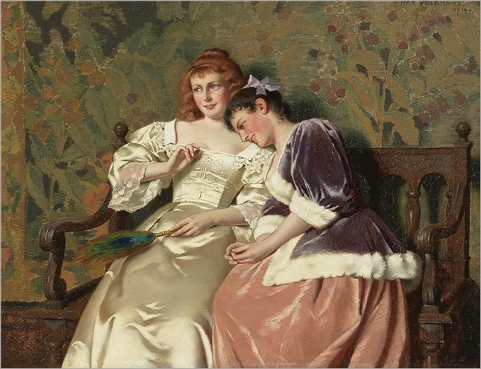 Max Volkhart (1848-1924) Girlfriends