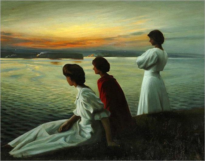 midsummer´s Eve by Harald Slott-Møller - 1904