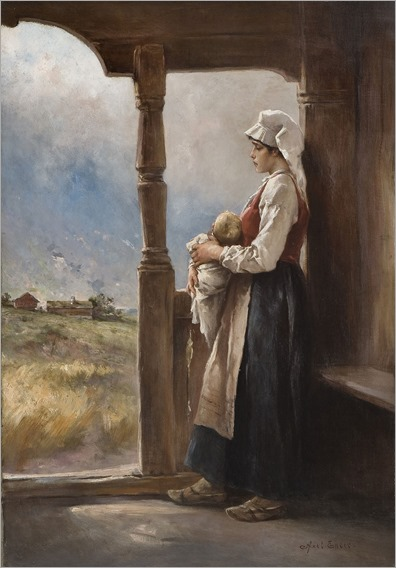 Mother and Child -Axel Hjalmar Ender
