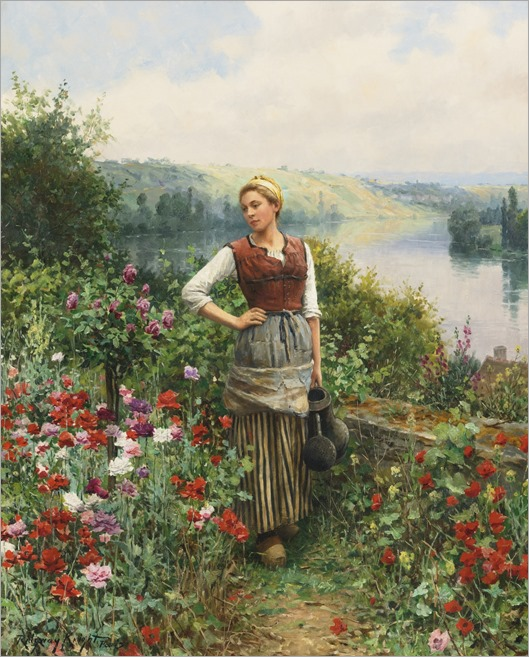 ON THE TERRACE AT ROLLEBOISE_Daniel R Knight