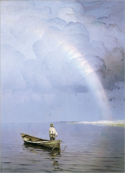 rainbow by Nikolai Nikanorovich Dubovskoy - Date unknown