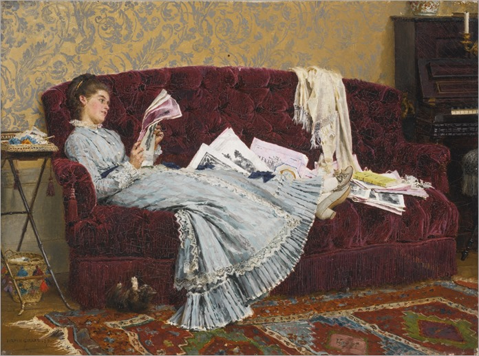 sunday afternoon_Marie-François Firmin-Girard
