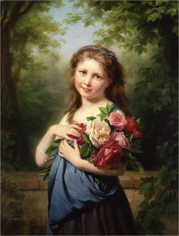 the flower gatherer-Zuber-Buhler