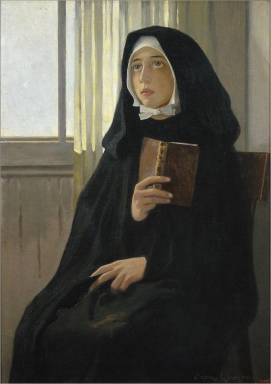 The Novice (1898). Joan Llimona (Spanish, 1860-1926)