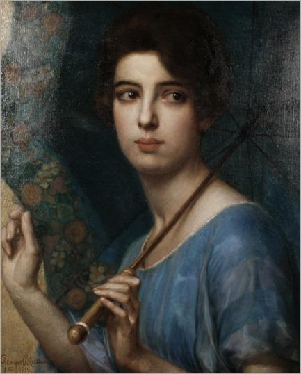 The Parasol - Georges Brasseur (belgian painter)