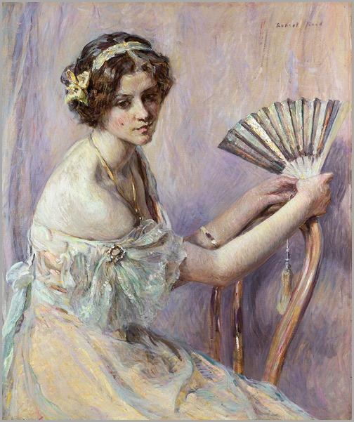 The Pearl Fan - Robert Reid (american painter)