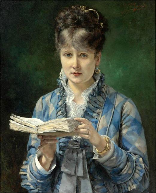 The Reader. Eduardo León Garrido (Spanish, 1856-1949)