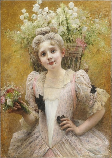 Valentine Cameron Prinsep - The Flower Seller