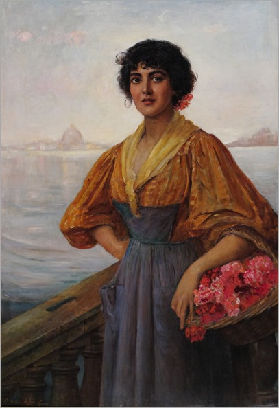 venetian woman by Louise Jopling