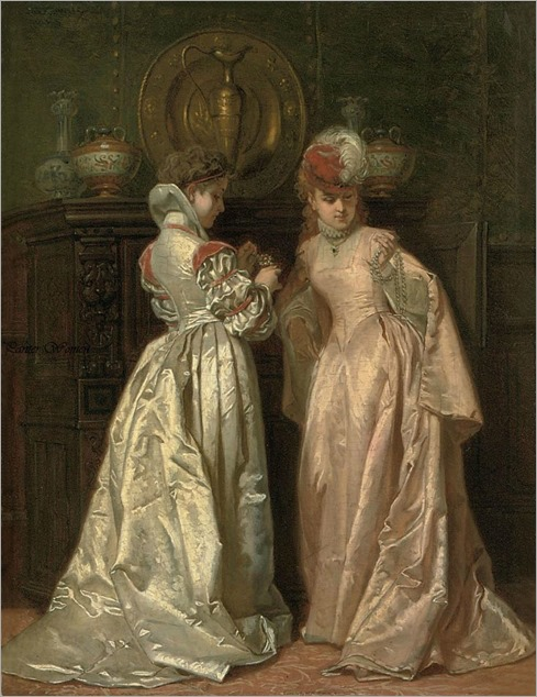 W.Bakalowicz-admiring the pearls