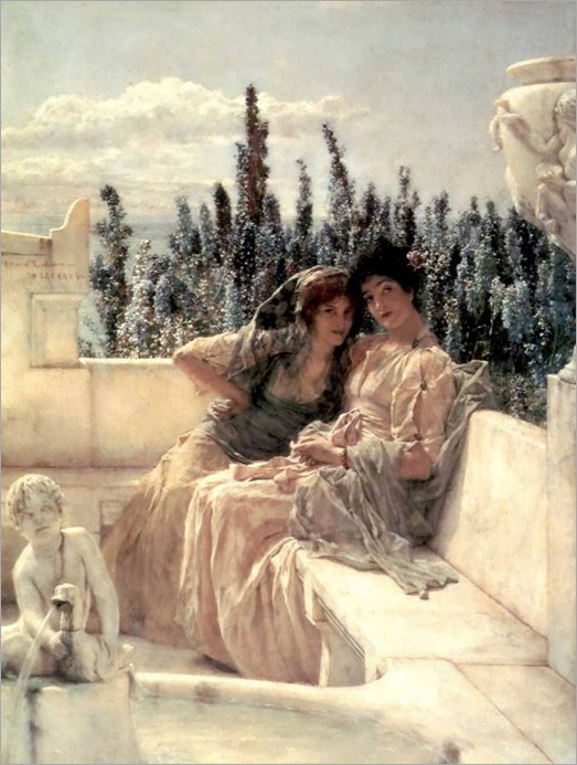 Whispering Noon_ Alma-Tadema, Lawrence