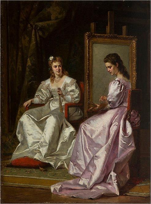 Wladyslaw Bakalowicz (1833 - 1903) A Painter