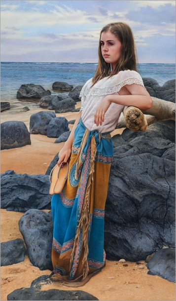 Young_Girl_at_Seashore-Duffy Sheridan