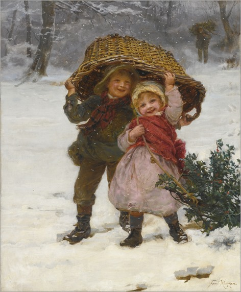 YULETIDE by Frederick Morgan