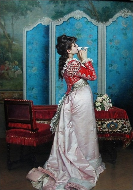 1877.Auguste Toulmouche (French 1829 – 1890)