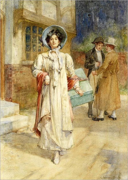 6.George Sheridan Knowles ( British, 1863-1931)