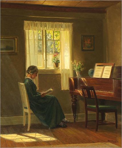 7.Karl Harald Alfred Broge (danish, 1870-1955)