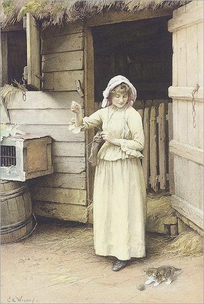 8.Charles Edward Wilson (British, 1854-1941)