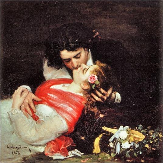 Carolus Duran – Le baiser 1863