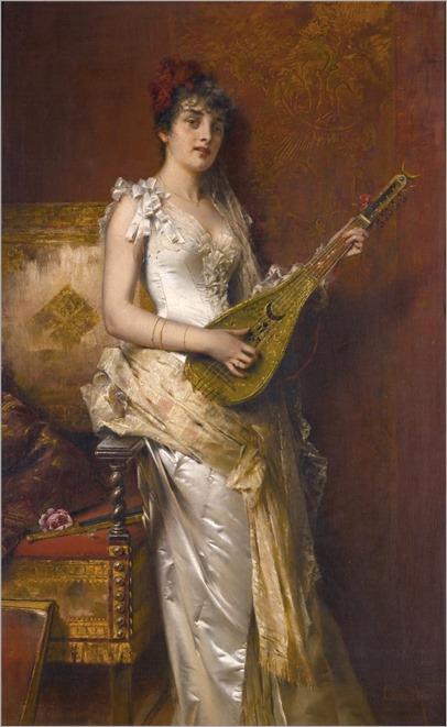 Conrad Kiesel (1846-1921) Daydreams