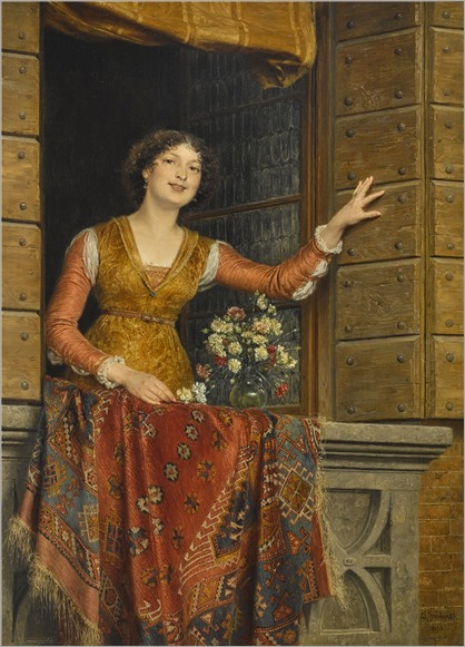 Eduard von Grutzner (1846-1925) Jessica