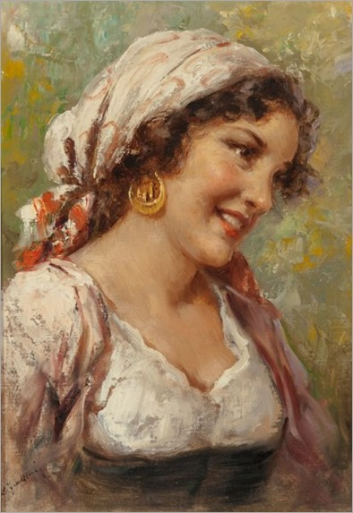 Enrico Frattini (Italian, 1890-1968). Gypsy Women