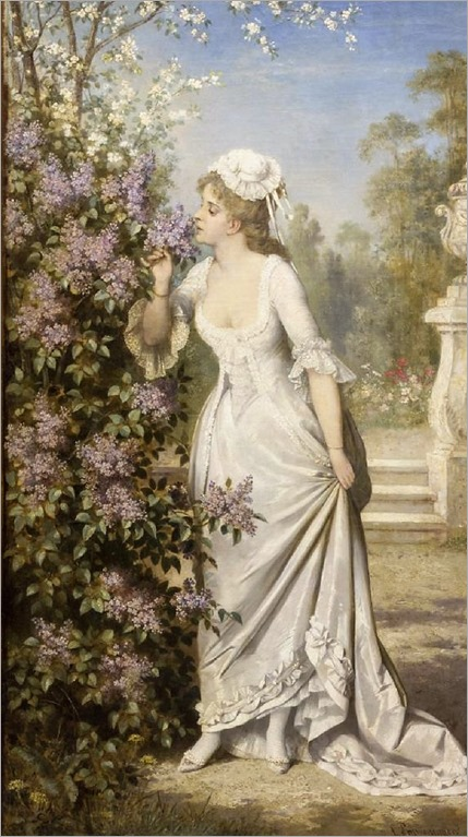 floral lady-karl schweninger the elder
