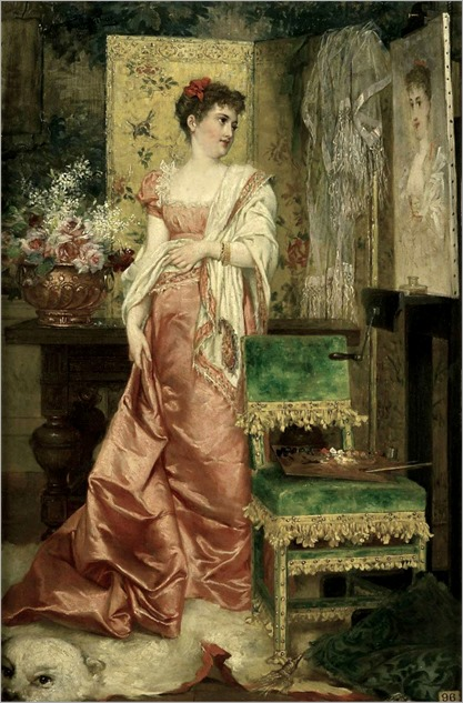 franz verhas_the portrait