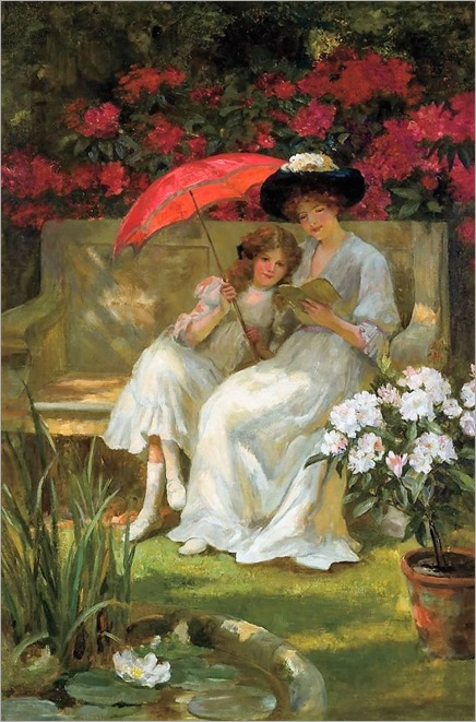 GEORGE SHERIDAN KNOWLES (British 1863-1931), Peaceful Pastimes