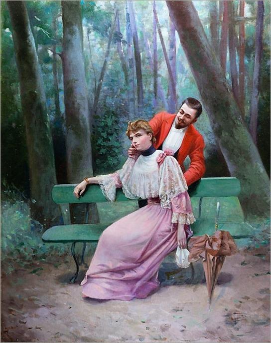 GiovacchinoGamberini_an elegant courtship