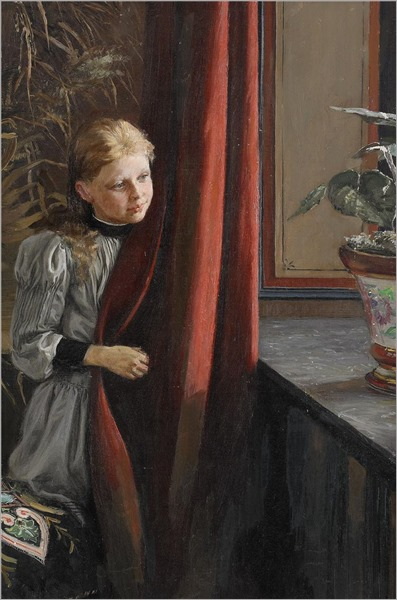 girl-at-the-window-by-Fanny-Brate