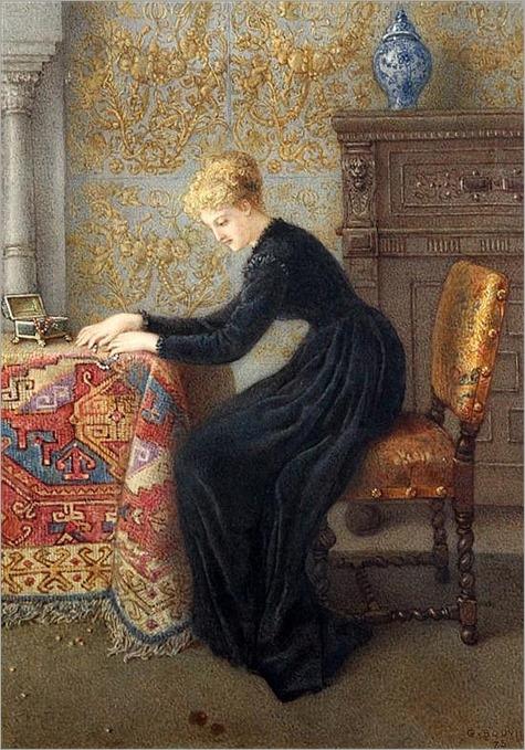 Gustavus Arthur Bouvier (fl.1886-1884)-Scattered Pearls