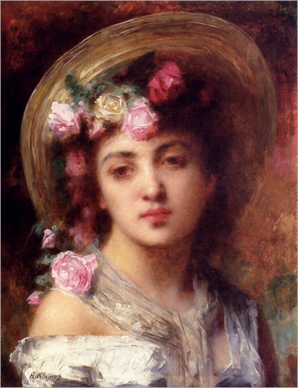Harlamoff_Alexis_The_Flower_Girl