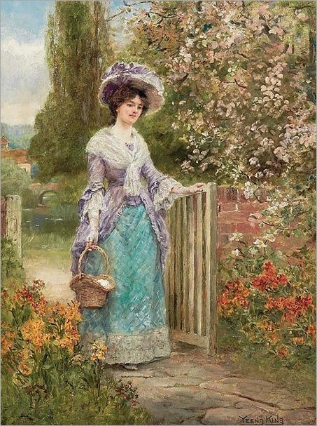 Henry John Yeend King_British, 1855-1924-spring blossons