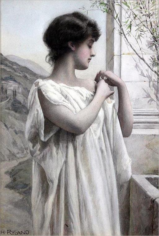 Henry Ryland (1856-1924) 'Naia'