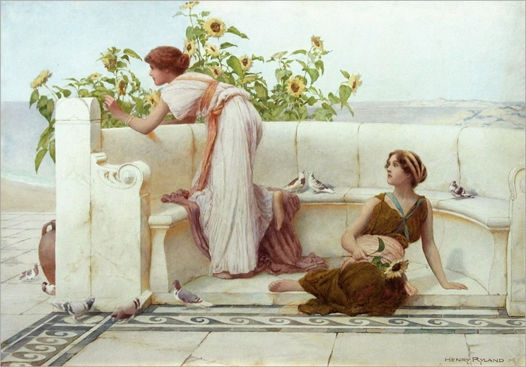 henry Ryland-life in ancient Rome