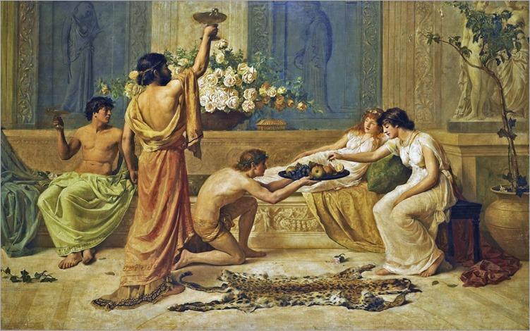 Henry Thomas Schaefer - The Banquet