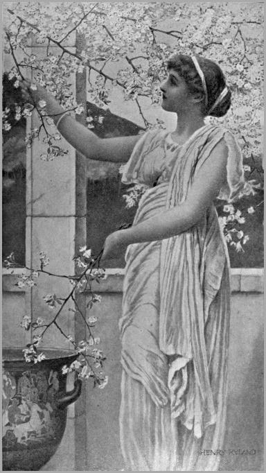 Henry_Ryland_-_Le_pommier_en_fleurs