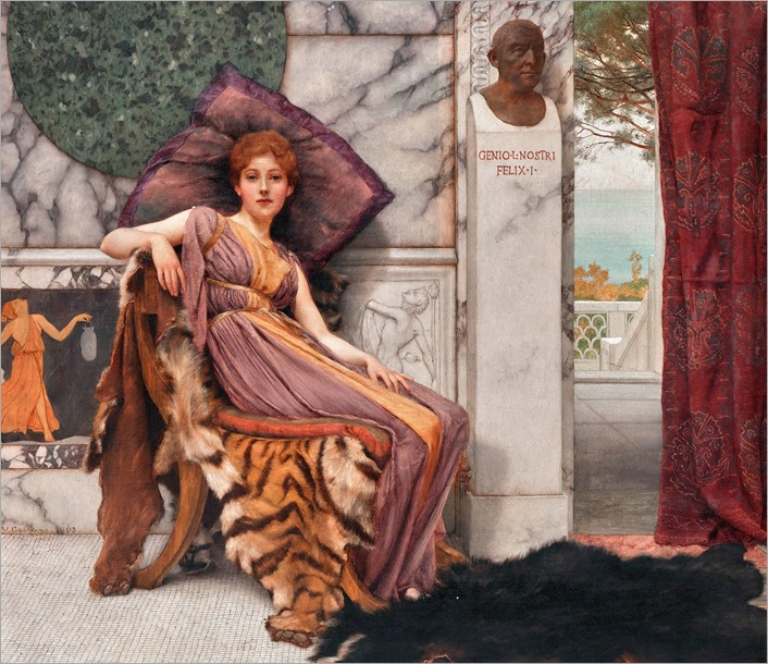 Il dolce far niente, by John William Godward
