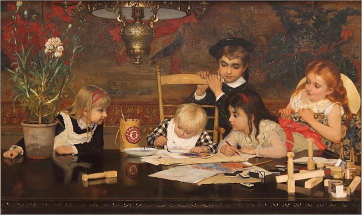Jan_Verhas_-_The_master_painter