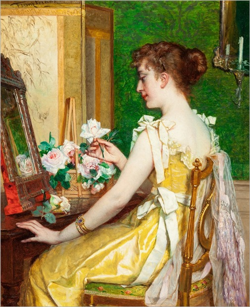 la femme dans sa boudoir-jan f. verhas
