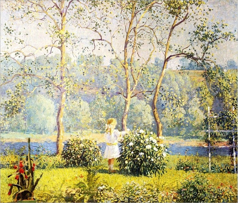May Day - Daniel Garber (american impressionist painter)