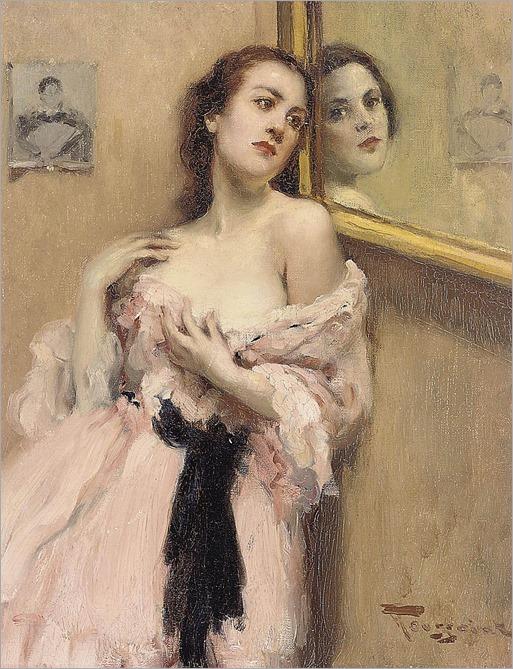 reflections-FERNAND TOUSSAINT (belgian 1873-1955)