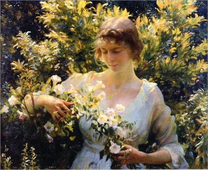 summer-morning_Charles C Curran