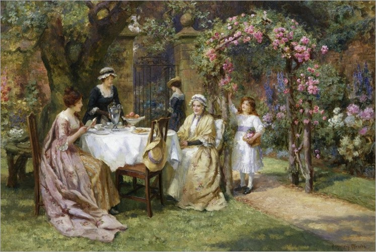 tea for two -knowles_George Sheridan