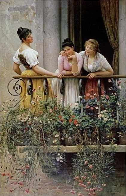 the balcony-eugen von blaas
