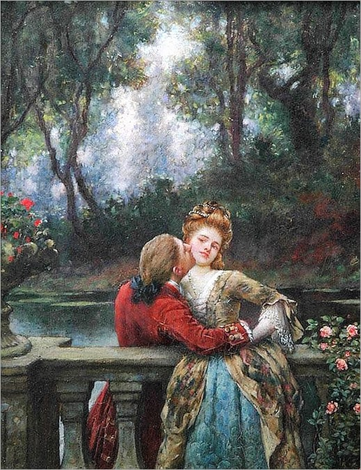 the first kiss_William Arthur Breakspeare - Date unknown