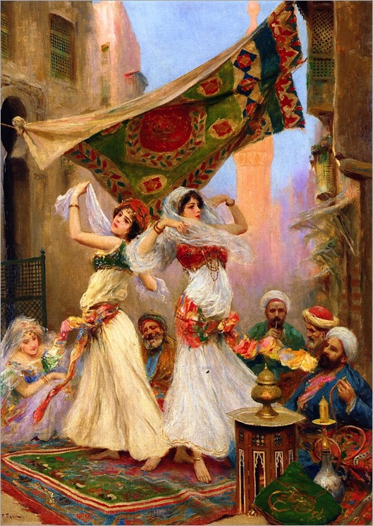 the harem dancers-Fabio Fabbi